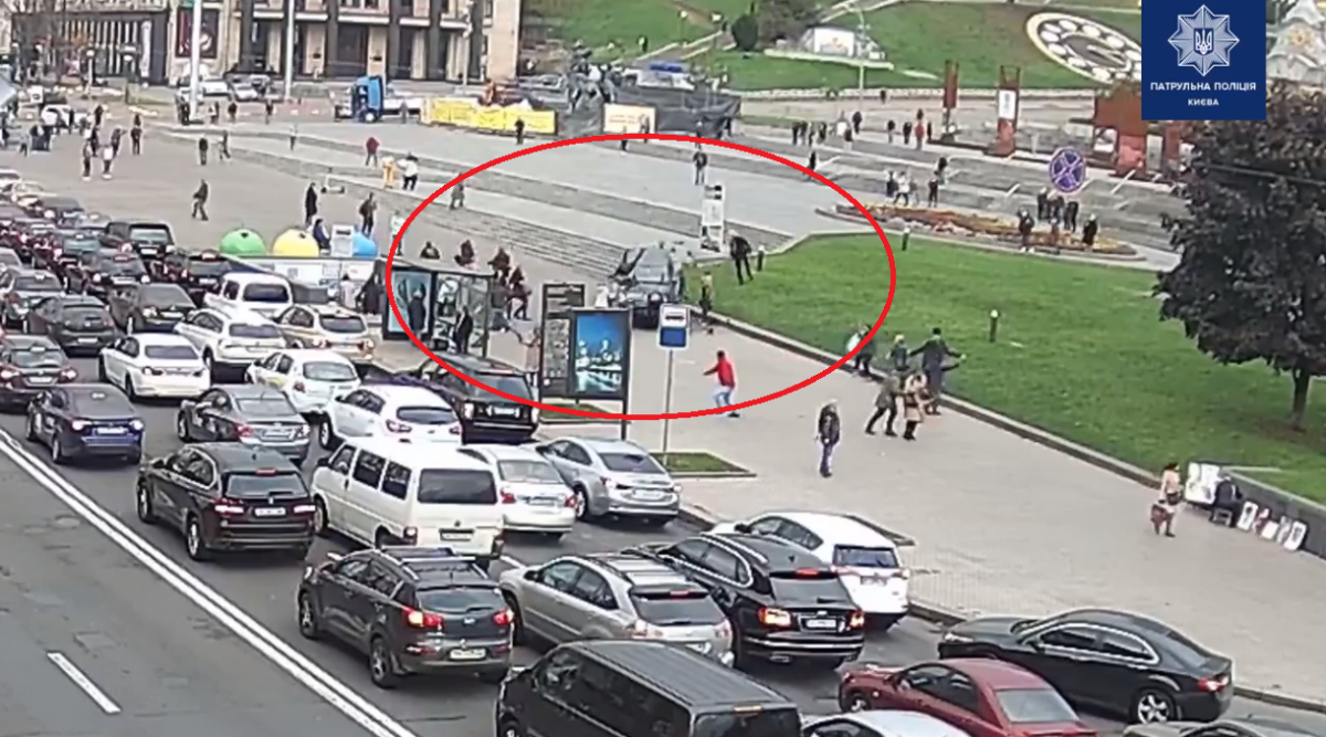 На Майдані Незалежності в Києві сталася масштабна ДТП, є жертви (фото, відео)